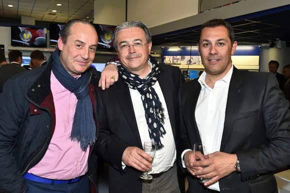 10. Richard Thavel, Marc Pigeroulet (Arioste immobilier) et Arnaud Gauduel (Maserati Gauduel)