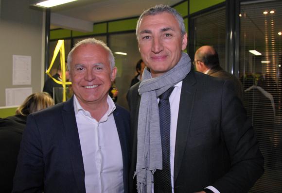 10. Philippe Richard (Hyundai Motor France) et Pascal Demirdjian (Audi Delorme)