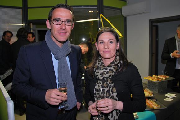 11. Jean-Philippe Barral (Groupe Bernard) et Lætitia Godart (BuroStyle Conseil)
