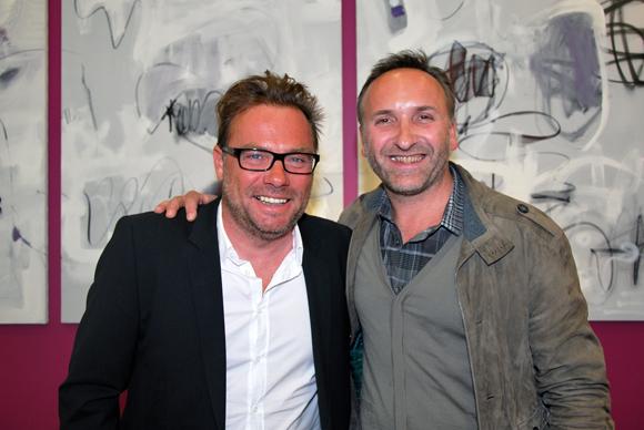 11. Pierre-Yves Gas (Proxicom) et Richard Drevet