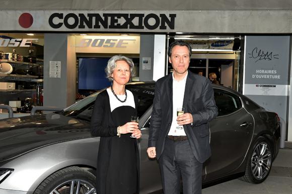 1. Thierry Mestrallet (Tedd Connexion) et son épouse
