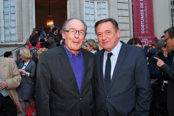 12. Denis Trouxe, président de l'Office de Tourisme et Joël Madile, directeur de la délégation parisienne du Grand Lyon