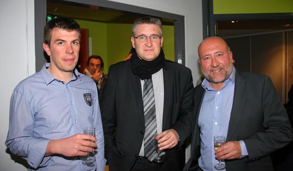 13. Yannick Mortier et Denis Crassava (Cabinet Magna), Jean-Luc Remilly (Setreal)