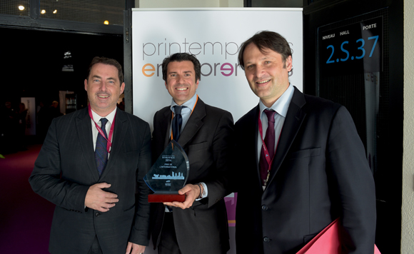 13. Jacques Marcout (Prisme Consulting), Pierfrancesco Carino (Emirates) et Gilles Sabart (Alixio)