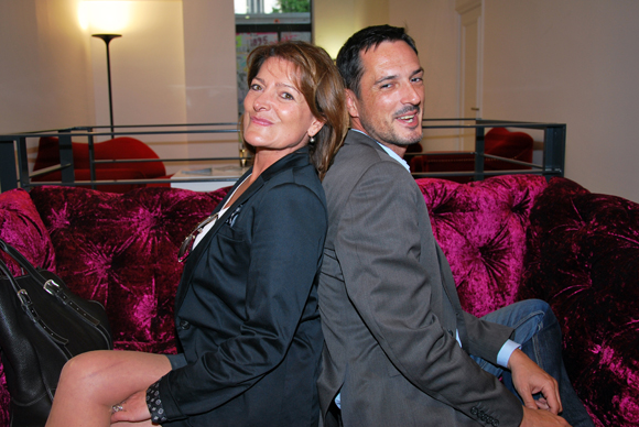 14. Manuela Scerra (Immo de France) et Stéphane Posa (Securitas)