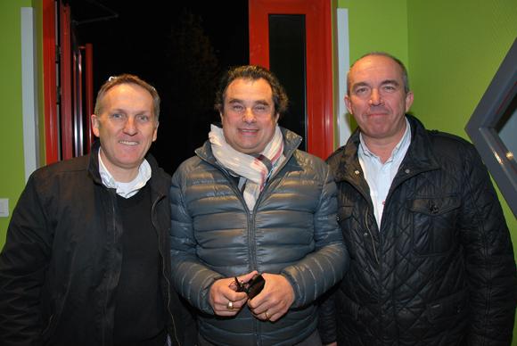 14. Gérard Turetta (CMD Lyon), Christian Demigneux (Actua) et Stéphane Duchet (Sofrelex)