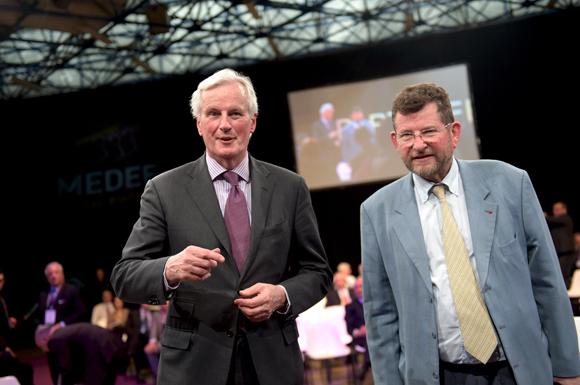 14. Michel Barnier et Michel Godet