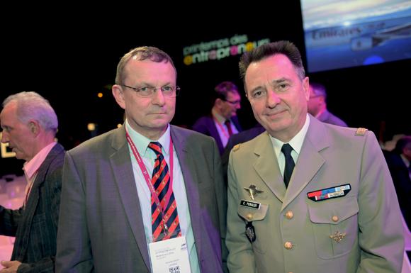 15. Jacques Lauvin (Lafarge) et le général Christian Peraldi