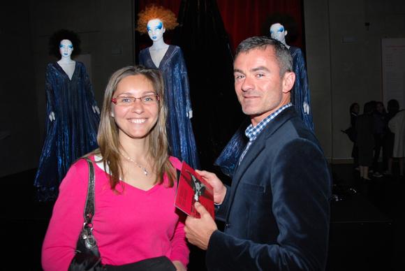 17. Aurélie Szlachta (Guide conférencier) et le ténor Arnaud Le Dû