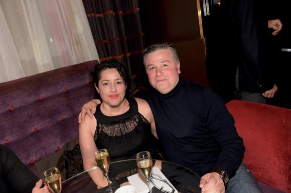 19. Angélo Paradisio et son épouse Nadine (Coiffure des Arts)