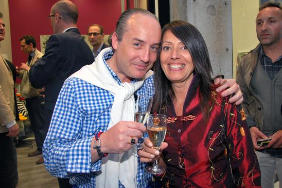 19. Richard Thavel (SCP Zerbib) et Florence Guyot (Champagne Guyot)