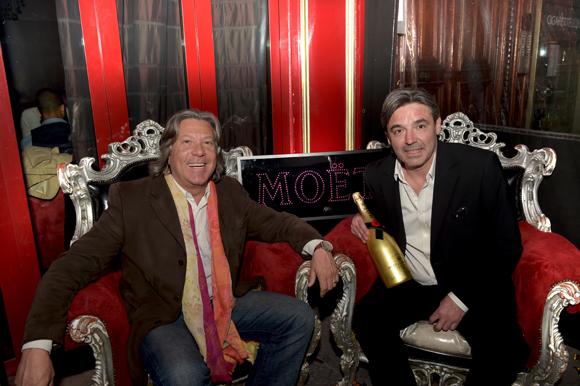 2. Alain Frechet (Moët & Chandon) et Stéphane Bidois, directeur du Comptoir de la Bourse