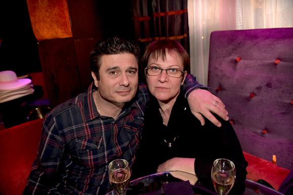 20. Hervé Kasbarian (Volvo) et son épouse Aline