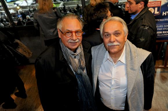 20. L'architecte Albert Constantin et Alain Bideau (Centre Jacques Cartier)