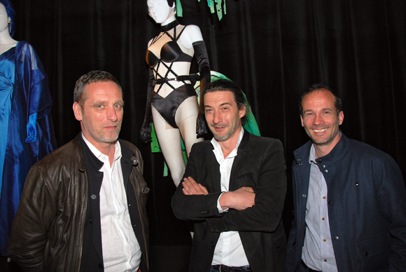 21. Hubert Rellin, Jim Roure et Frederik Arnaud