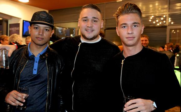22. Slim Araibia (AM Auto), Rayane Kadi (La Bella Vita) et Guillaume Mathieu (Sovitrat Evénementiel)