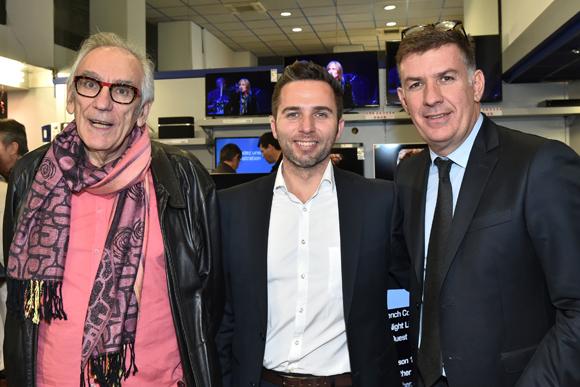 22. Albert Dray (Le café du Pond), Franck Genthon (Maserati Gauduel) et Nicolas Winckler (Lyon People)