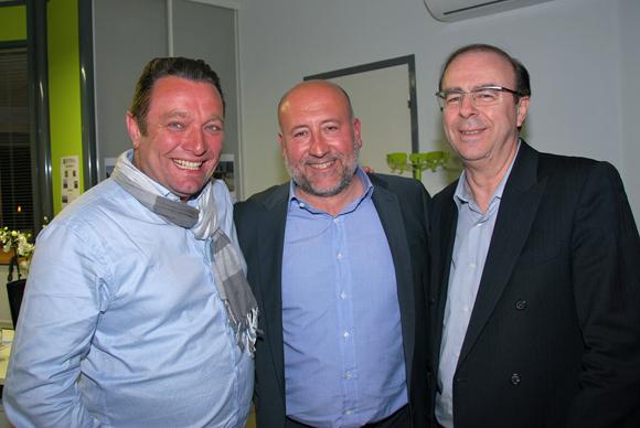 22. Sébastien Bernard (OptimHome), Jean-Luc Remilly (Setreal) et Christian Morel (La Voûte chez Léa)