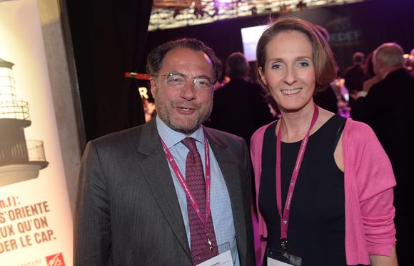 2. Bernard Meyer (CBB) et Fabienne Billat (RP-NetWorking)