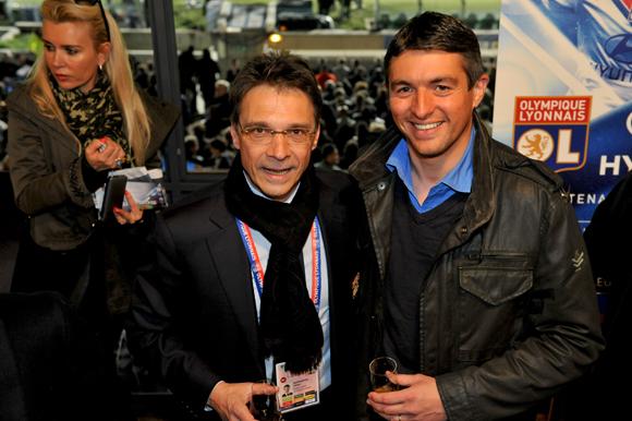 23. Olivier Bernardeau (OL) et Hervé Ollien (Samsung)