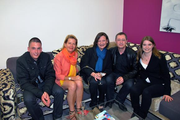 23. Cédric Bonnay (Colas), Nadine Borcier (Synpexe), Catherine Servony, Didier Bonnay (ERAS) et Anne-Marie Monin (Raphaele 8)