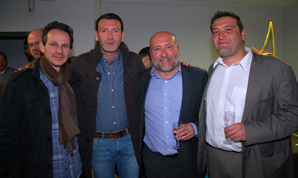 25. Jean-François Chetail, Xavier Tolly (Astrid), Jean-Luc Remilly et Marcel Prolange (Setreal)