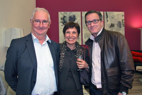 26. Jacques et Marie-Claude Collange et Franck Luel