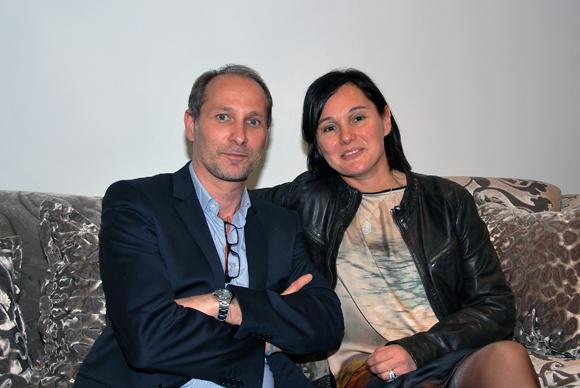 27. Fabrice Vidal, adjoint au Maire du 3e arrdt (Commerce et artisanat) et Sandrine Chausson