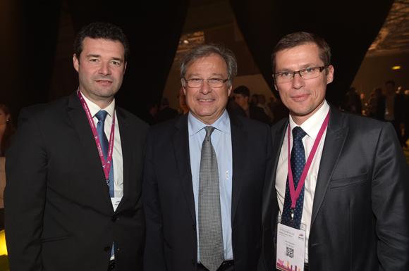 27. Franck Morize (CGPME), Emmanuel Imberton, président de la CCI et Alain Fauveau (CCI Lyon)