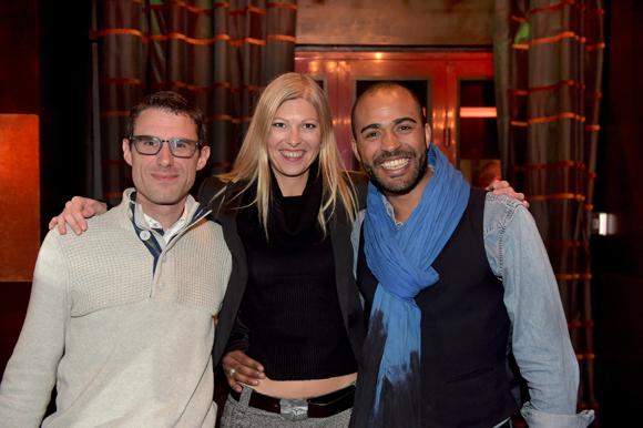 28. Maël Vallat (PI), Minka (Agence Caméléon) et Jean-Marc Pescia (Manage & Art)