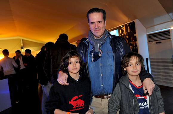 3. Laurent Kelmanowitz (Casino), ses fils Melvil et Lone