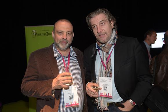 34. Geoffroy de Peretti (Etic) et Pascal Lacombe (Syrah informatique)