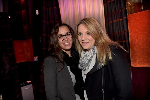 36. Clélia de Carne (Biomedinov) et Virginie Buquet (Contact's communication)