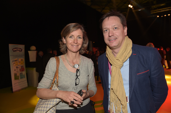 37. Blandine Vignon (CCI de Lyon) et Frédéric Giraud (Malls)