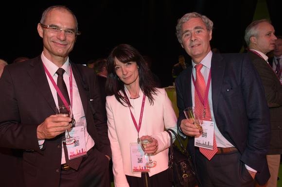 39. Christian Marty (Smartpass C&M), Anne Chatelain (Audientur) et Patrick Nenert (Euklead)