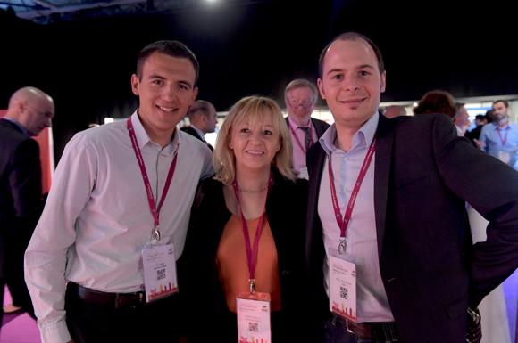 4. Paul Truffy (Owenscorning), Michelle Guignard (Entreprise Truffy) et Pierre-François Tissot (VRPF)