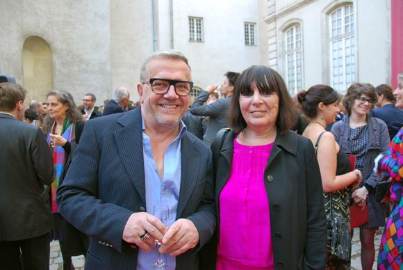 4. Patrick Pierre (Carrie Boardshop) et Nadine Gelas