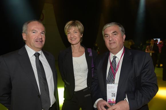 44. Patrick Duret (Cimax), Anne-Sophie Panseri (Maviflex) et Joseph Aguera (SCP Joseph Aguera & associés)