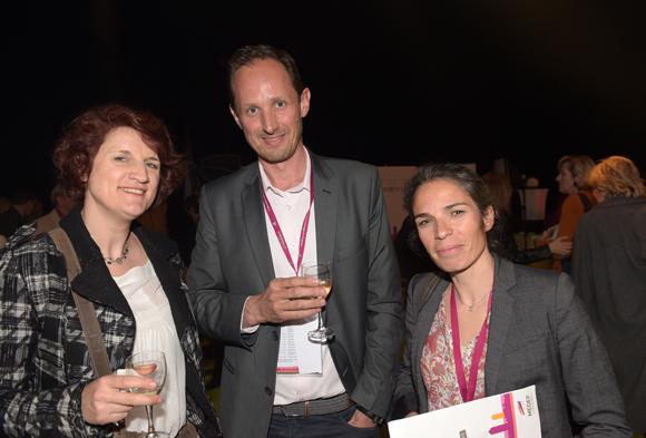 46. Mireille Schehr (Sonkei RH), Laurent Gesse (Axial) et Marie Grang (Les Maristes)