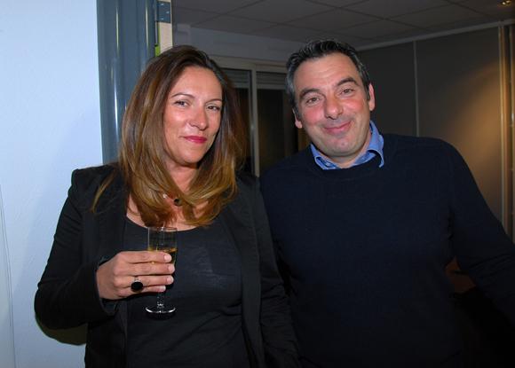 4. Gaëlle Delsaut (Setreal) et Laurent Pietrocola (Media Sport Promotion)