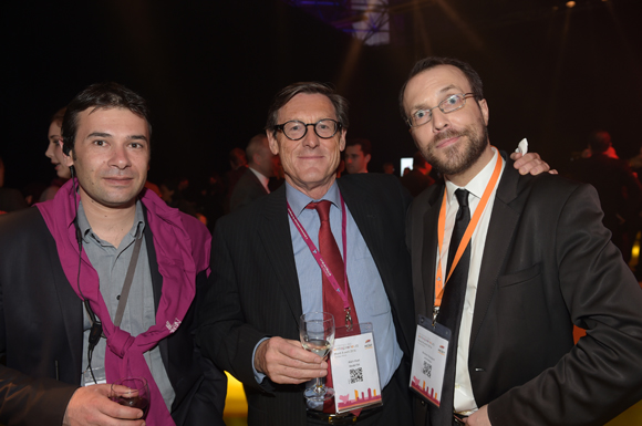 52. Cédric Diogon, Alain Huet (Medef) et Nicolas Rossignol