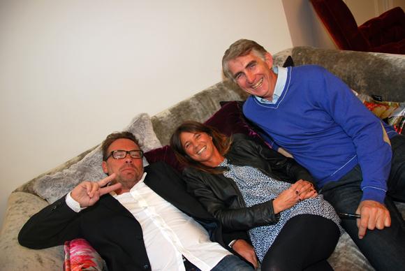 5. Pierre-Yves Gas (Proxicom), Axelle (Lyon People) et Philippe Longueville (Les Echos)
