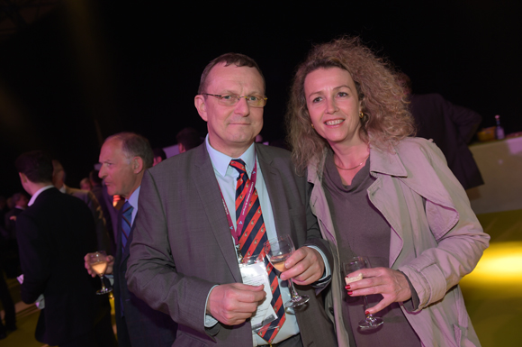 54. Jacques Lauvin (Lafarge) et Isabelle Huguet (Biennale de Lyon)