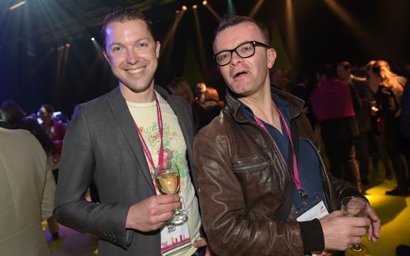 55. David Chanel (Bon Réveil) et Jean-Jacques Charvon-Béranger (Les Clefs de Lyon)