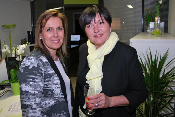 5. Corinne Fée (Sonepar) et Annie Presle (Media Sport Promotion)