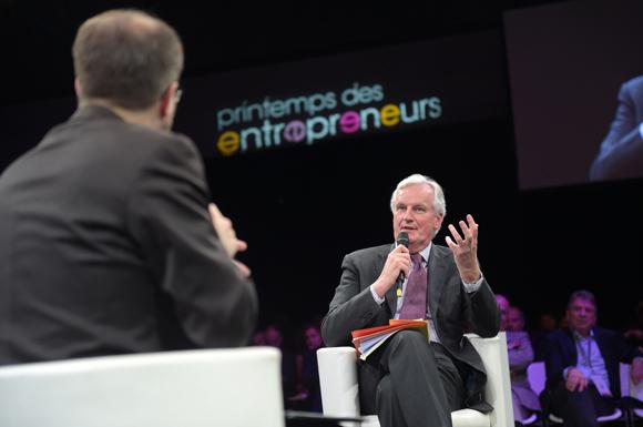5. Michel Barnier, commissaire européen