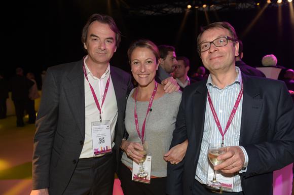 58. Norbert Fontanel (Fontanel), Sophie Renard (Eliott & Markus) et Hervé Liagre (HL5 finance)