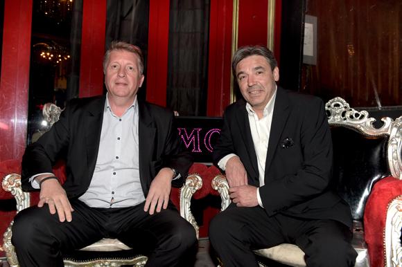 6. Michel Lopez (Korloff) et Stéphane Bidois, directeur du Comptoir de la Bourse