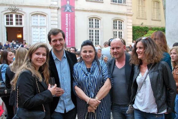 6. Virginie Decia et Nicolas Scala (Sienne Design), Pascale Mathilon (Serfim), Olivier Fischer (Sienne Design) et Julie Perin Fischer (Artiste plasticienne – Alternatif Art.com)