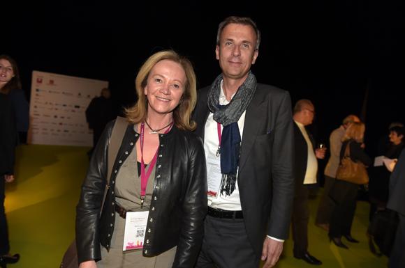 62. Marie-Laure Carre (Lyon Move) et Cyril de Gasquet (Adecco)